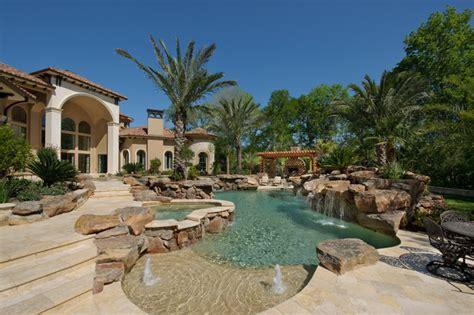 custom dream homes  luxury pool  garden ideas  homes