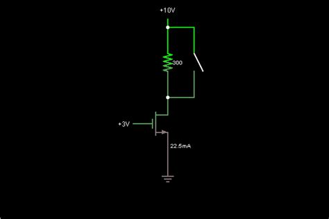 Current Source With Mosfets Circuit Simulator