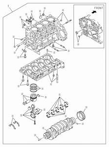Isuzu Npr-hd Engine Asm  Prod  Block  Rjs