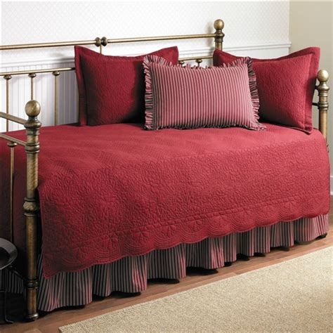 twin size  piece daybed cover ensemble quilt set