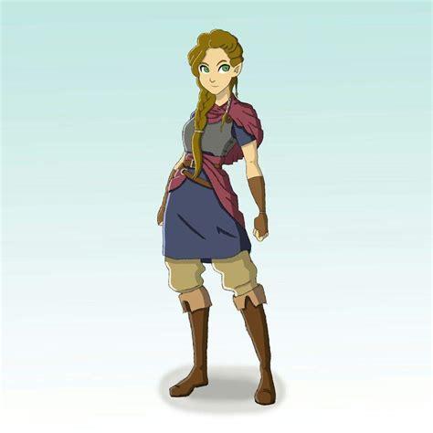 My Legend Of Zelda Concept Art Pt 2 Zelda And Hyrule