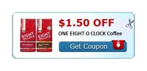 $1.50 Off Eight O'Clock Coffee at Coupons.com   Dealspotr