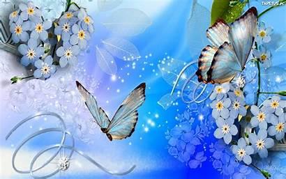 Butterflies Flowers Background Butterfly Desktop Backgrounds Screen