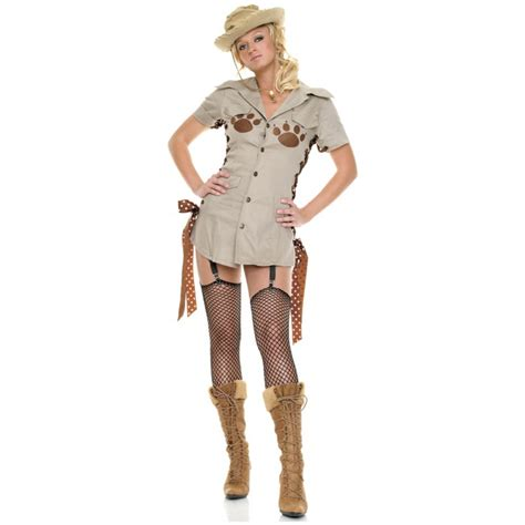safari jungle crocodile hunter girl costume