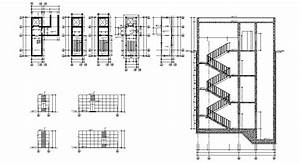 Silkadze  25  Best Looking For Plan Staircase Detail Drawing
