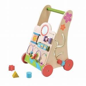 Chariot Bois Bébé : chariot de marche en bois babywalker achat vente youpala trotteur 6923619435534 cdiscount ~ Teatrodelosmanantiales.com Idées de Décoration