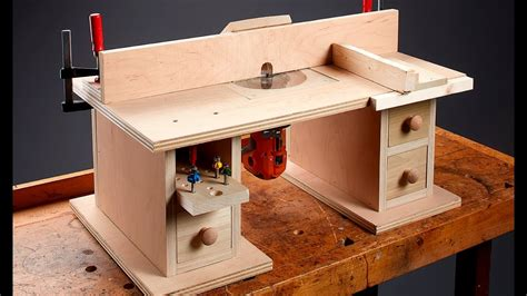 router table and router i can do that benchtop router table youtube