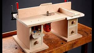 I Can Do That  Benchtop Router Table