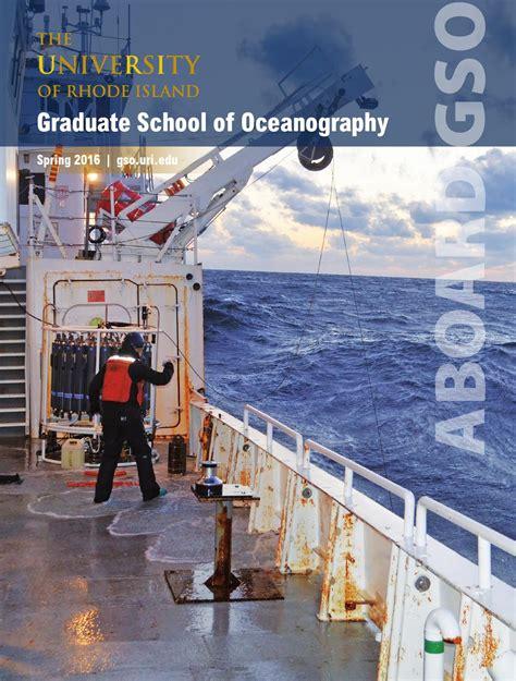 graduate school  oceanography  university  rhode