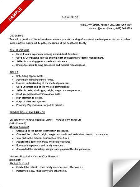 teacher assistant resume sample medical assistant resume