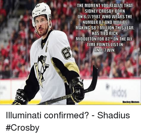 Sidney Crosby Memes - 25 best memes about illuminati confirmed illuminati confirmed memes