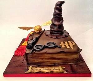 Deco Harry Potter Anniversaire : gateau anniversaire harry potter ~ Melissatoandfro.com Idées de Décoration