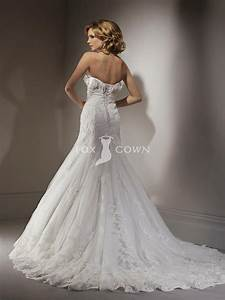 beautiful lace wedding dress with lace edged veil and With beautiful lace wedding dresses