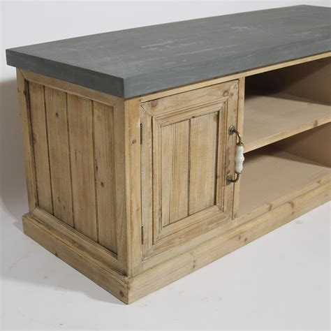 meuble t 233 l 233 style ancien bois naturel made in meubles