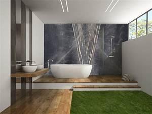 Receveur Salle De Bain : salle de bain avec douche italienne tout savoir avant de l am nager ~ Melissatoandfro.com Idées de Décoration