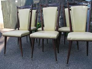6 chaises salle a manger 1960 environ limousin With salle a manger 1960