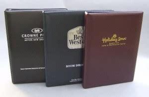 hotel guest directory binders guest services directories