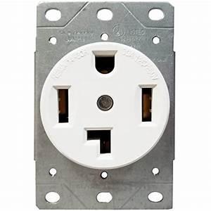 Enerlites 30 Amp Electrical Dryer Outlet