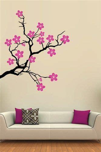 vinilos decorativos arboles y flores Decoracion de muros