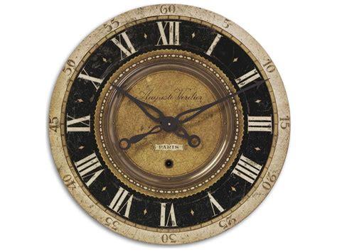Uttermost Auguste Verdier 27 Inch Wall Clock