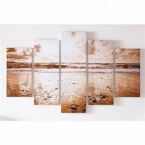 Buy graham brown sunrise beach canvas wall art set of