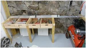 Construire Un établi En Bois : shamwerks atelier atelier tabli ~ Premium-room.com Idées de Décoration