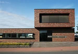 Facade, Bricks, Office, Building, Neuenkirchen, By, Hagemeister