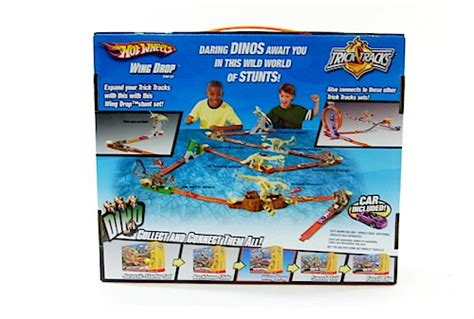 hot wheels dino wing drop trick tracks  mattel