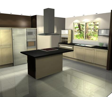 cuisine schimdt vichy maison contemporaine terrasse composite en cours