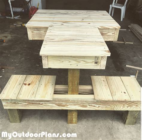 diy double shooting bench myoutdoorplans