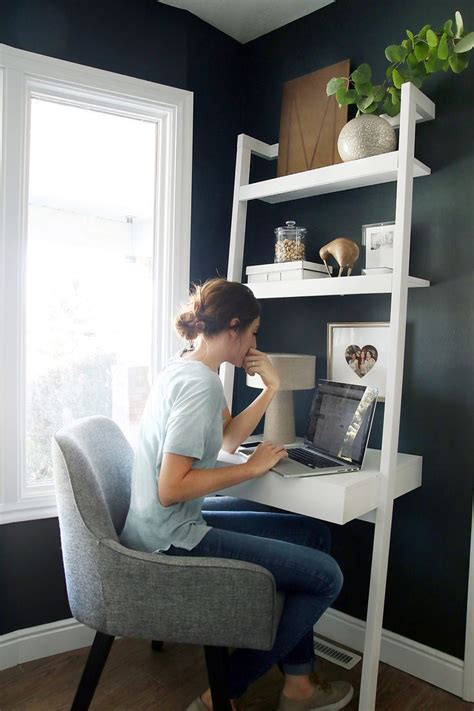 Creating A Small Home Office by In My Own Corner Office Home Living Design