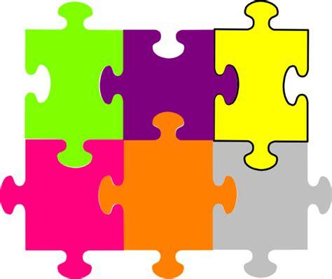 jigsaw puzzle  pieces clip art  clkercom vector clip