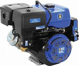 420cc Ohv Gas Engine With Electric Start