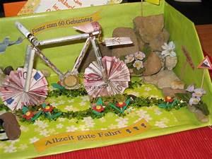 Geldgeschenk Fahrrad Basteln : geldgeschenk f r ein fahrrad bild 2 ~ Lizthompson.info Haus und Dekorationen