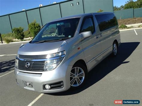 Nissan Elgrand Image by Nissan Elgrand For Sale In Australia