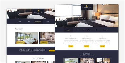 20+ Best Hotel & Accommodation Responsive Wordpress Themes