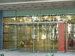 glass door With all glass entry door