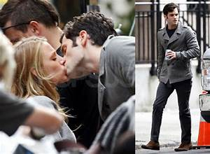 Pictures of Blake Lively and Penn Badgley Kissing on the ...