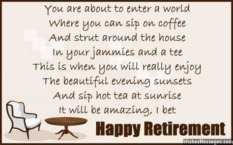 retirement inspirational farewell funny quotes jokes happy birthday anniversary wedding wishes