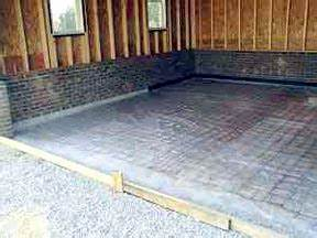 garage slab how house construction works howstuffworks With garage floor concrete thickness