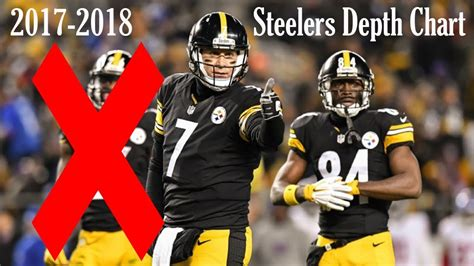 pittsburgh steelers  depth chart  leveon bell youtube