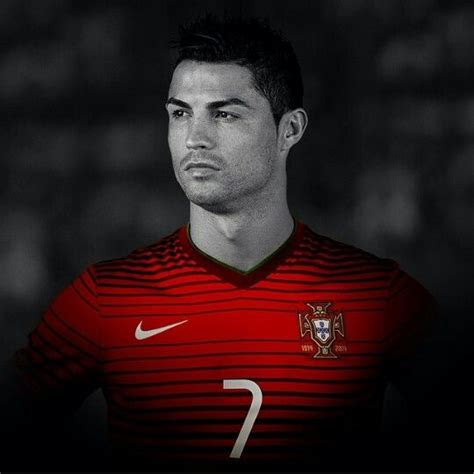 Cristiano Ronaldo Portugal Real Madrid Nike Red Black And
