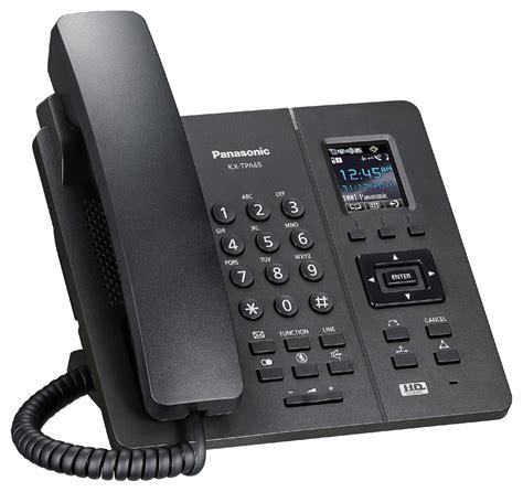 telephone de bureau bureau téléphone sans fil dect panasonic tpa65 noir à