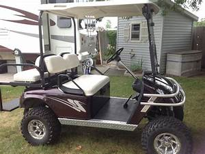 1996 Ezgo Txt Lifted Golf Cart In Ludington Mi