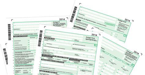 formulare fuer die steuererklaerung