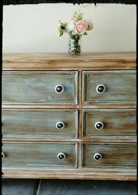 shabby chic dresser  refinished  waverly chalk paint