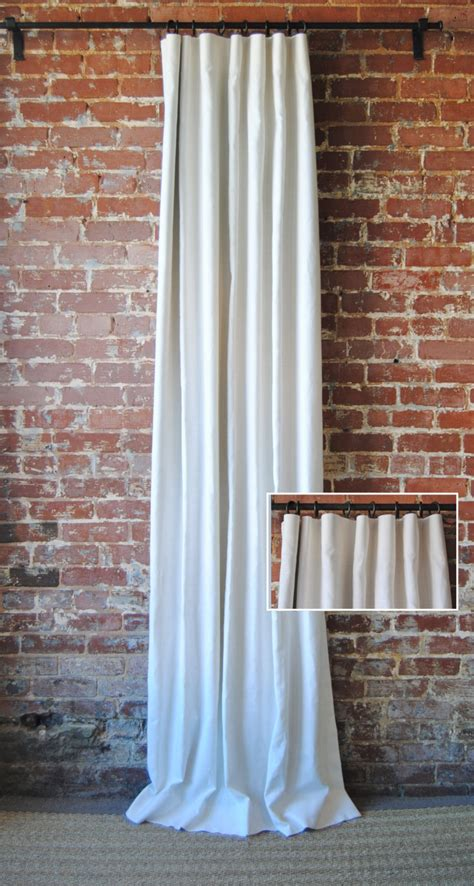 Custome Drapes - 108l solid panel with knife pleat custom curtains 28