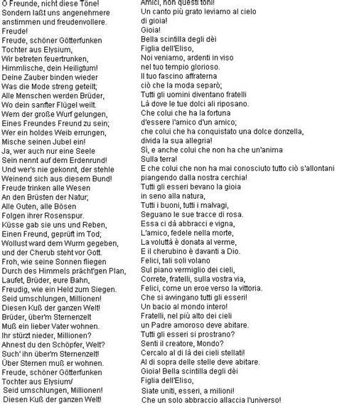 Testo Inno Nazionale Francese Immagini Sulla Nona Di Beethoven 171 Zibaldino