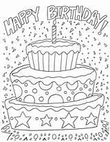 Coloring Birthday Happy Hershey Artzycreations sketch template