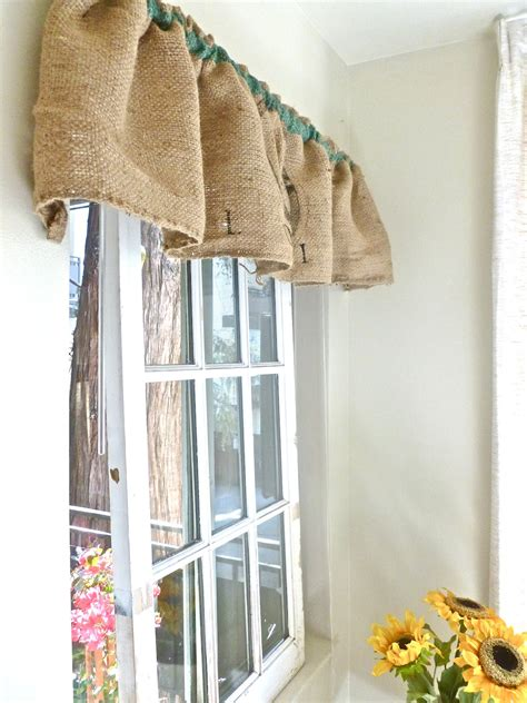 decorations burlap window treatments for interior